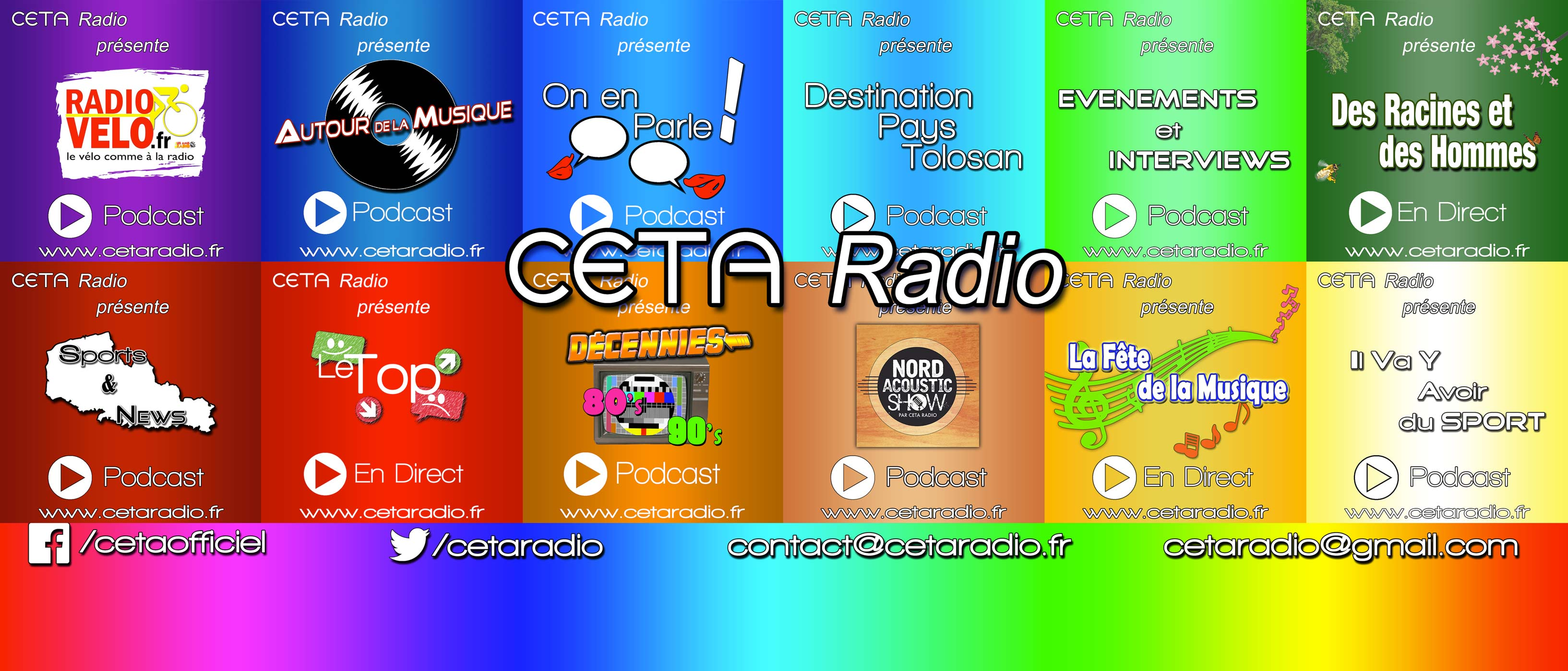 Ecoutez nos podcasts !